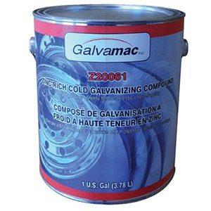 Peinture galvanisée à froid